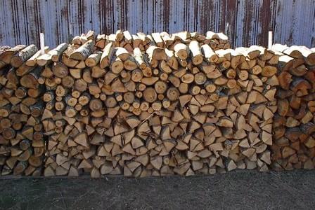 Split Firewood for Firewood Sales